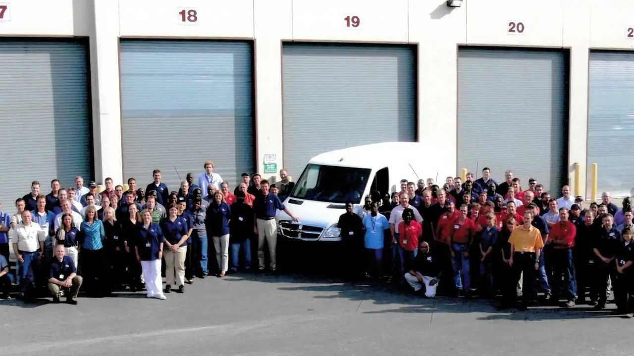 Mercedes Vans, i 15 anni della fabbrica di Charleston