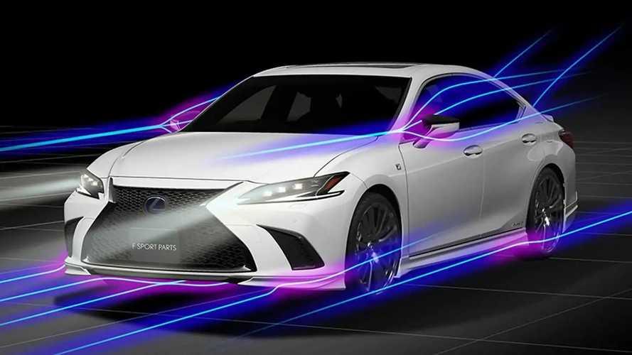 2022 Lexus ES With TRD Parts