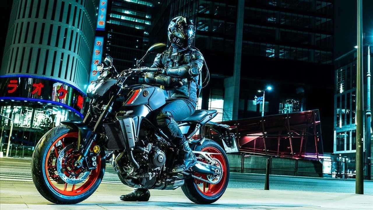 2021 Yamaha MT-09 - City