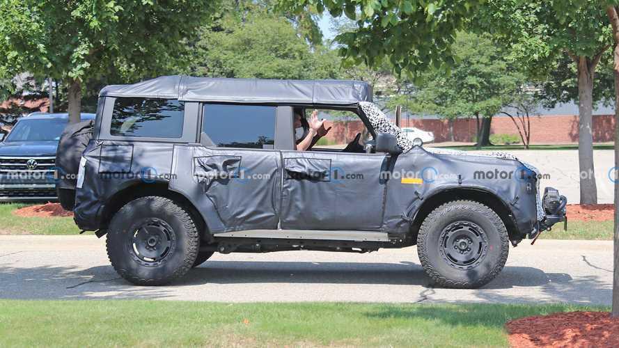 Ford Bronco Sasquatch'tan ilginç casus fotoğraflar geldi
