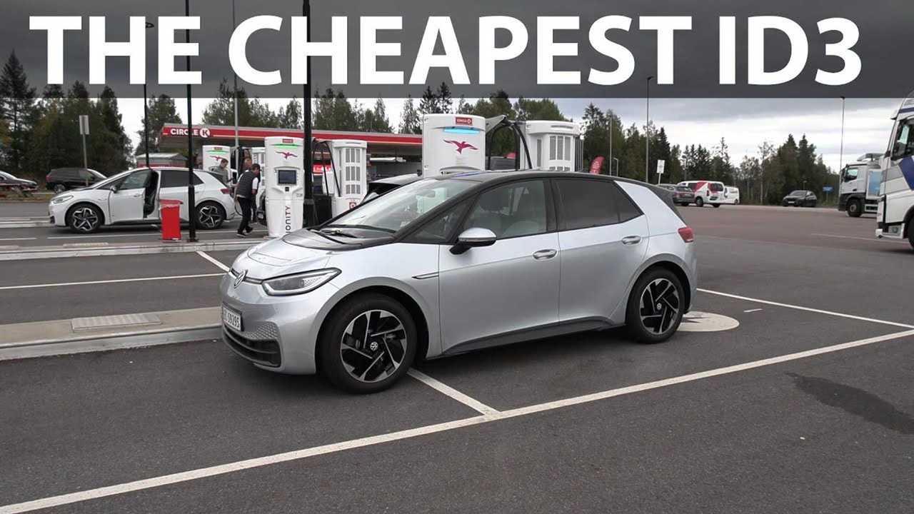 VW ID3 55 kWh range test (source: Bjørn Nyland)
