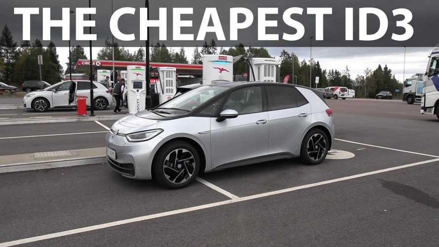 Bjørn Nyland Checks Entry-Level Volkswagen ID.3 Pure's Range
