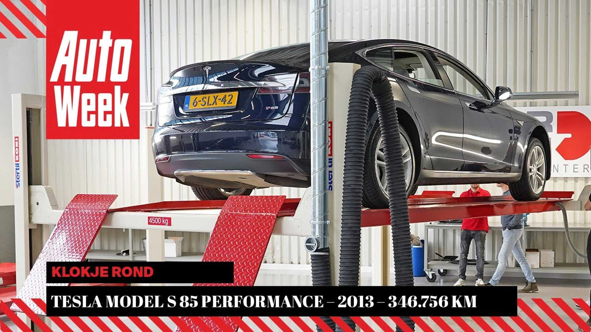 How Does A 2013 Tesla Model S Fare After 350,000 Km?