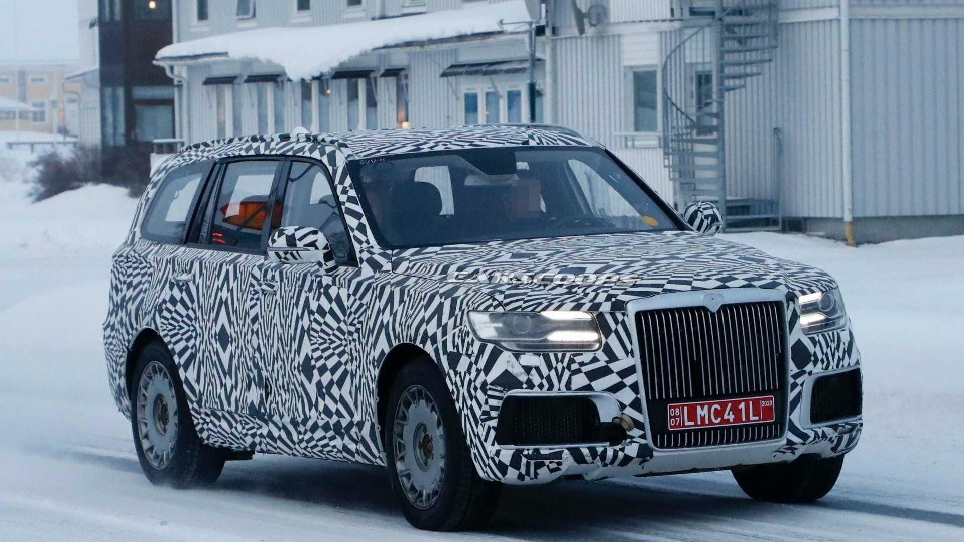 Aurus Komendant станет электромобилем