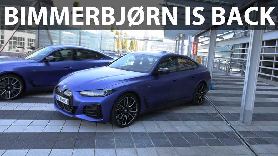 Bjorn Nyland Drives BMW i4 M50 And Loves Its Performance