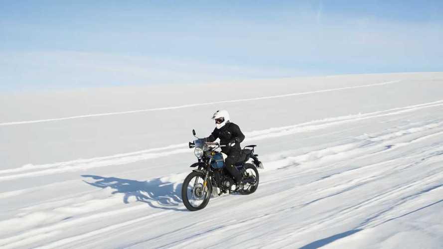 Selebrasi 120 Tahun, Royal Enfield  Gaspol ke Kutub Selatan