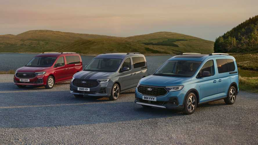 2022 Ford Tourneo Connect debuts in Europe as rebadged VW Caddy
