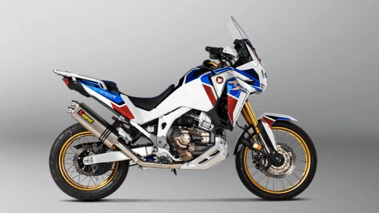 Crank Up The Brap With Akrapovic's Pipe For The Honda Africa Twin