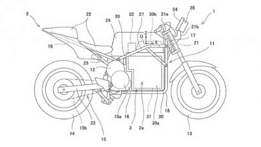 Kawasaki: dopo la concept ecco i brevetti sulla moto elettrica