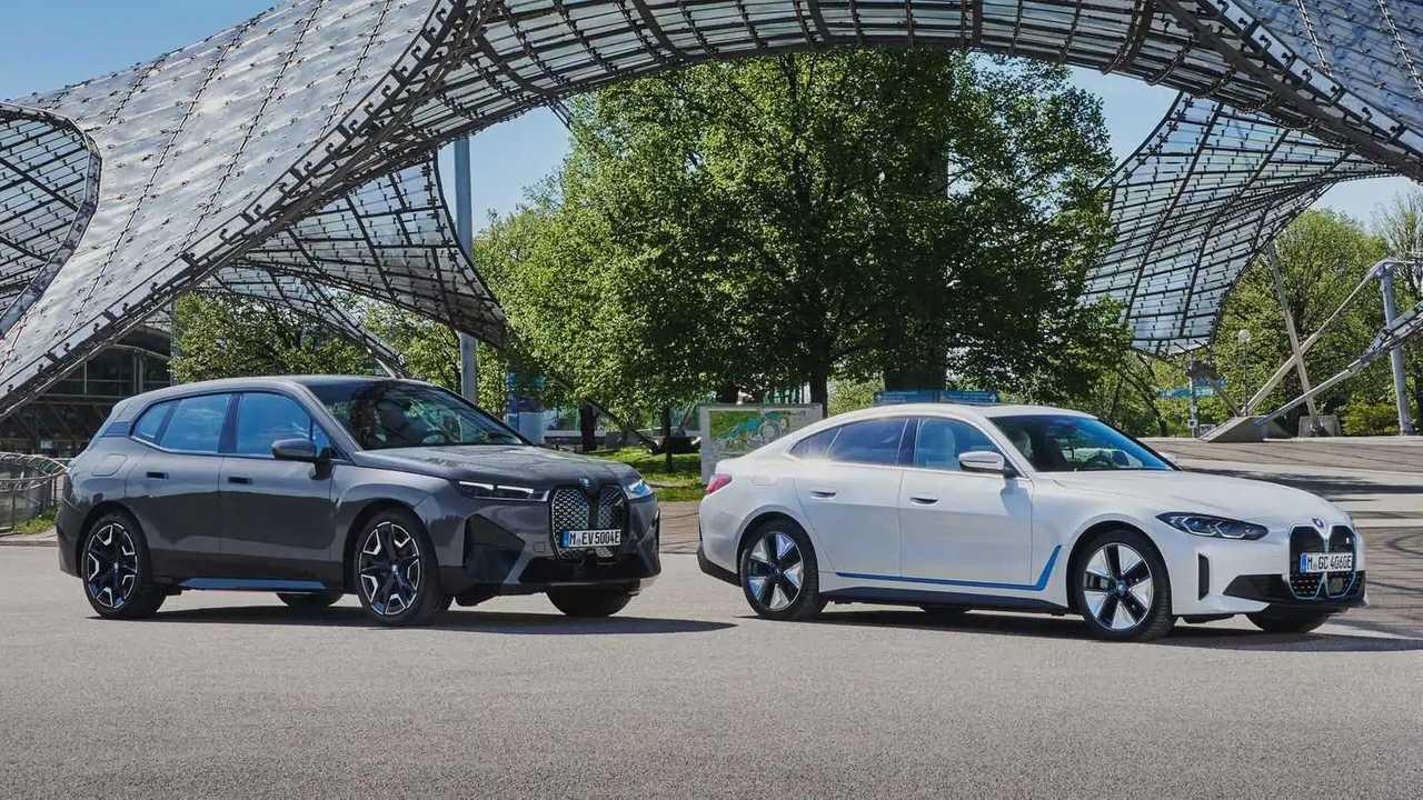 BMW eletricos i4 iX
