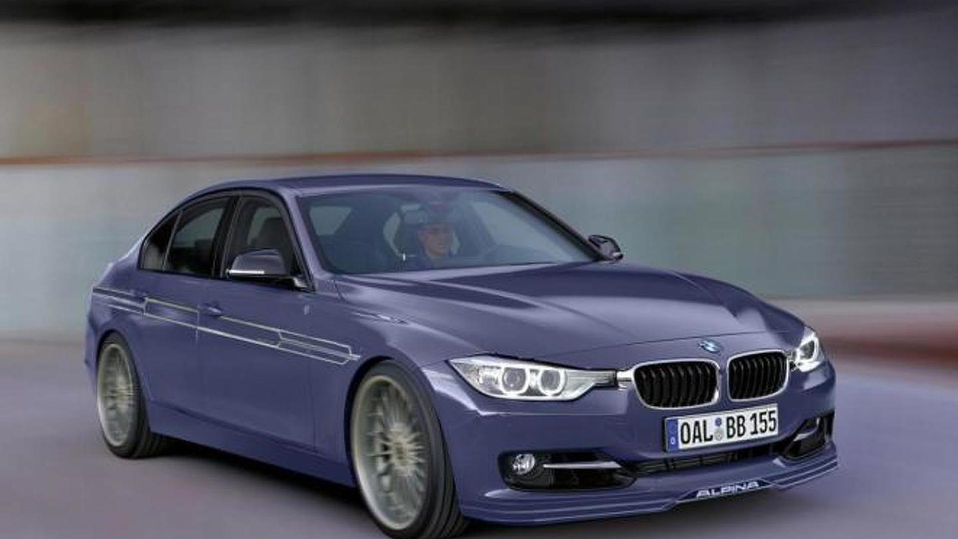 alpina b3 biturbo  f30  speculatively rendered