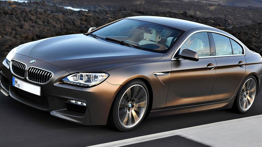 2013 BMW M6 GranCoupe gets rendered
