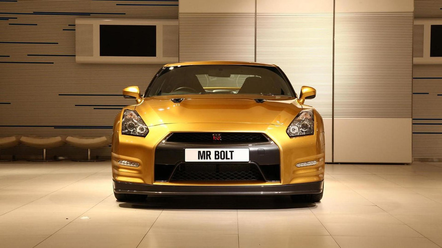 Nissan & Usain Bolt create a one-off GT-R for charity
