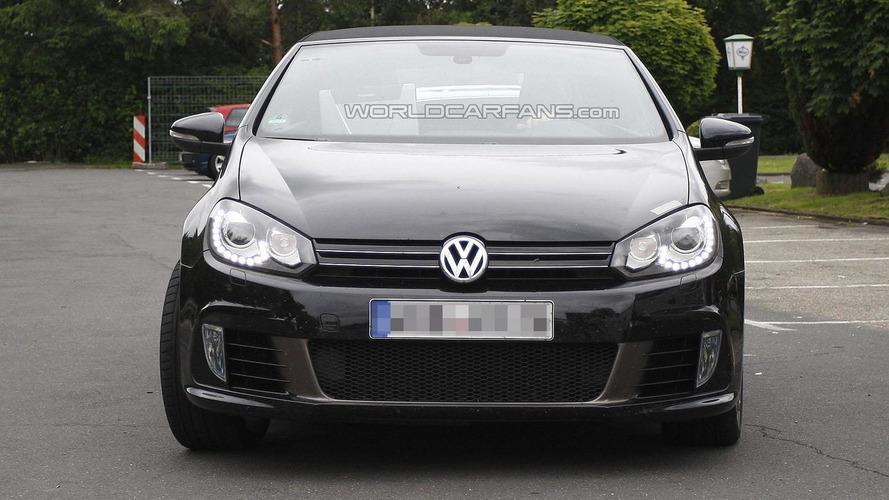 Volkswagen Golf R Cabriolet caught on camera [video]