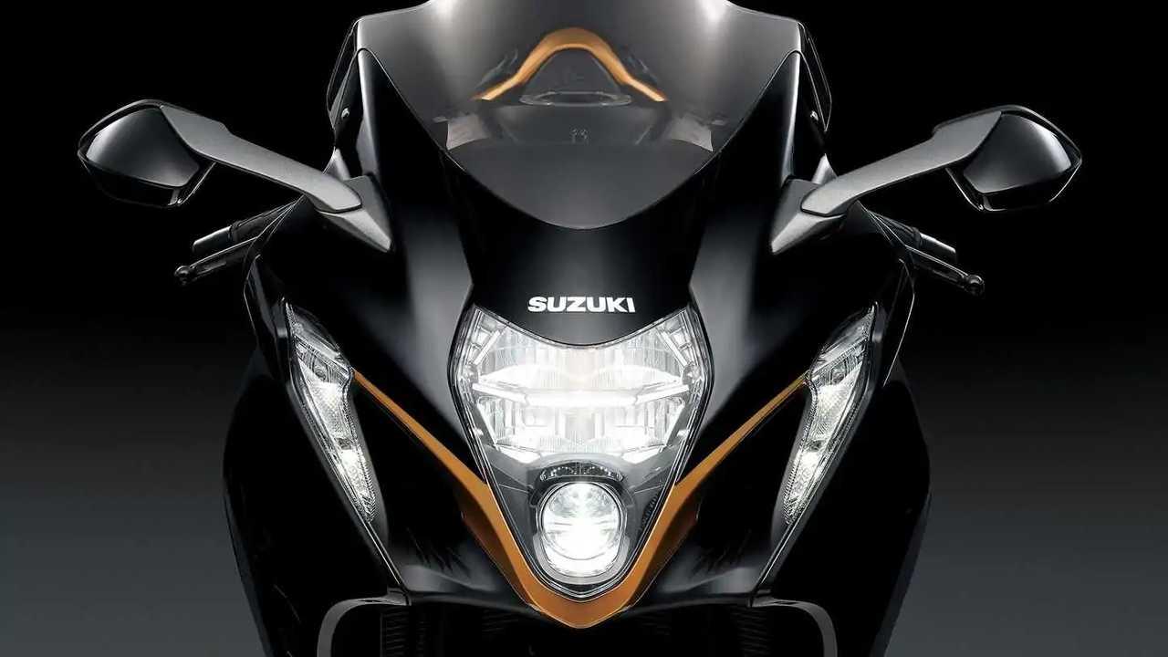 2022 Suzuki Hayabusa, Detail, Headlight