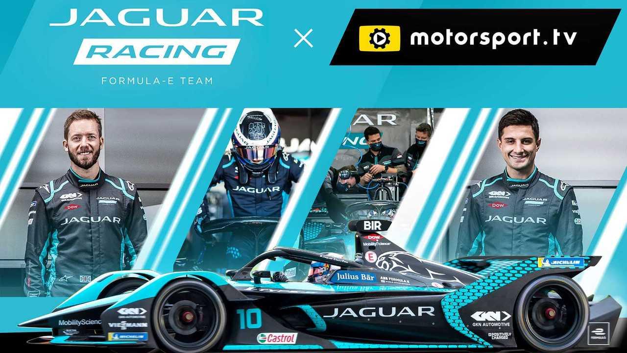 У Jaguar Racing появился канал на Motorsport.tv