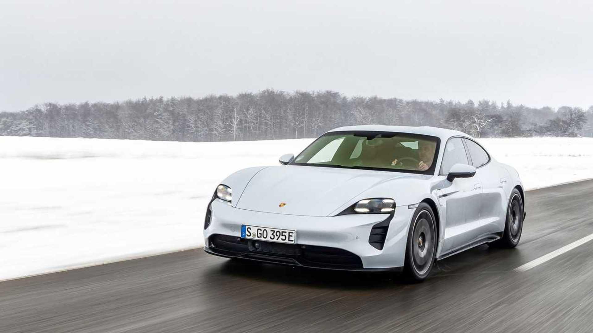 Tesla Model 3 Beat Porsche Taycan Turbo S On Prepped Drag Strip