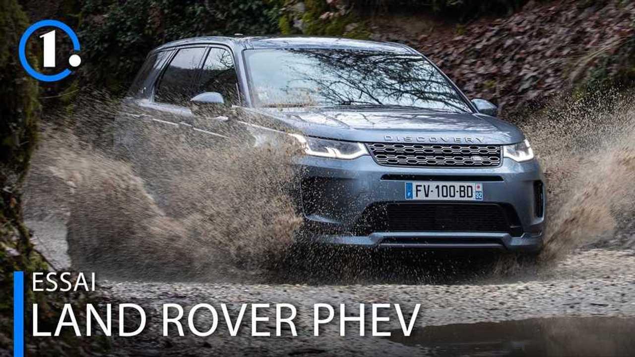 Land Rover PHEV essai