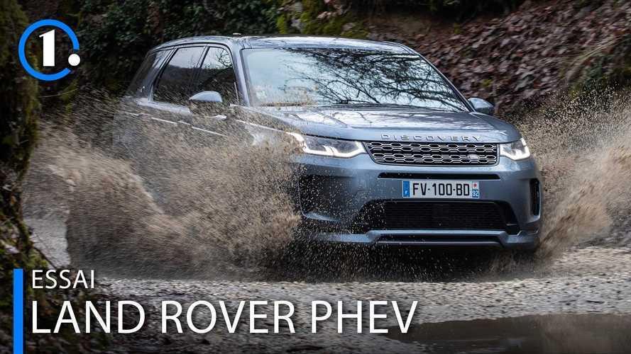 Land Rover Evoque et Discovery Sport P300e, deux salles deux ambiances