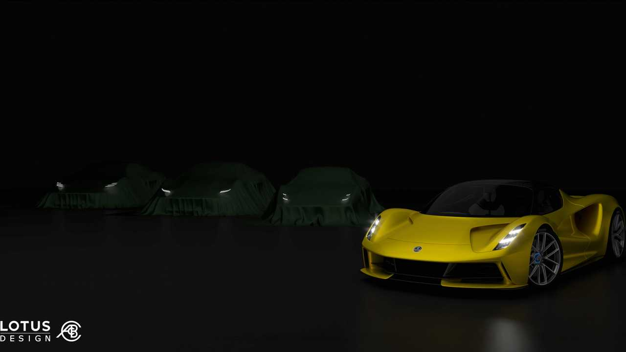 New Lotus sports car teaser