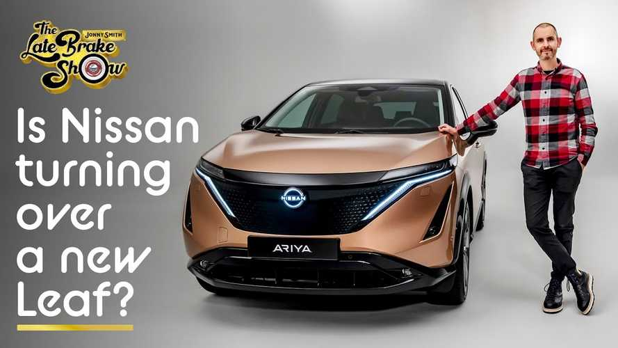 Get A Detailed Look At The Nissan Ariya Electric Crossover