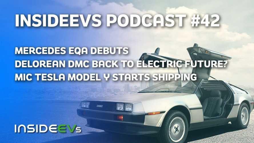 Mercedes EQA Debuts, DeLorean Back For An Electric Future