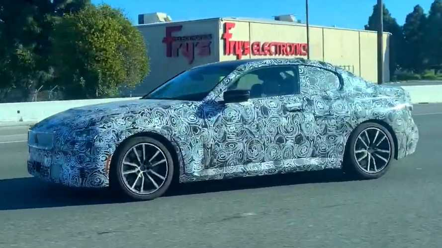 2022 BMW 2 Series Coupe Spy Video Captures It Cruising The Highway