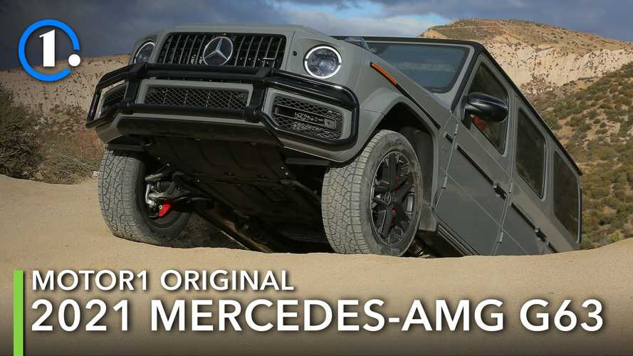 I Changed My Mind About The Mercedes-AMG G63 After Off-Roading It