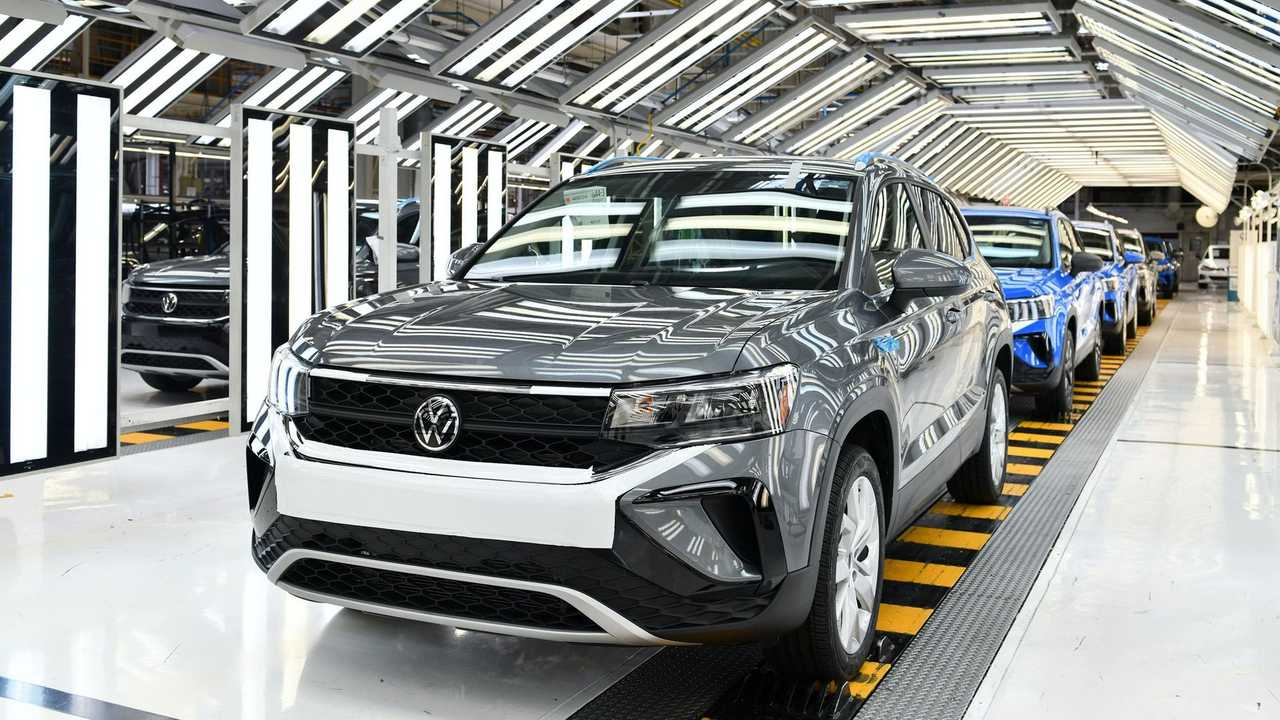 Volkswagen Taos - Fábrica no México