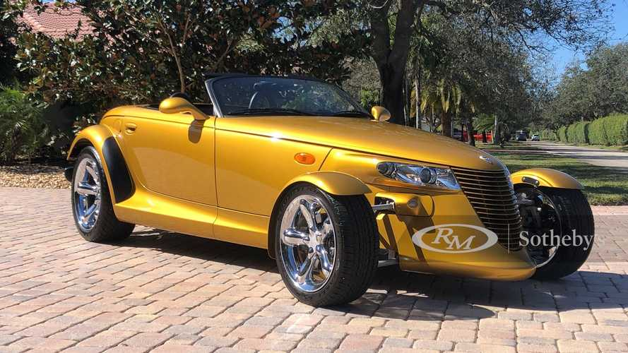 Este impresionante y raro Chrysler Prowler busca nuevo propietario
