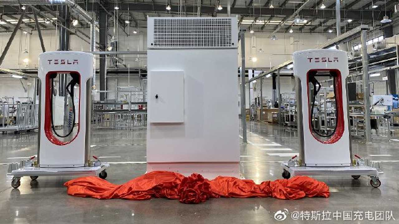 Tesla Superchargers Produktion in China - 3. Februar 2021