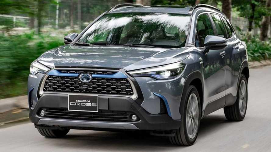 Novo Toyota Corolla Cross nacional será exportado para 22 países