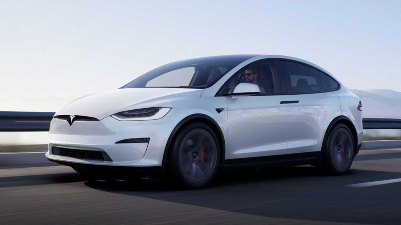Frissített Tesla Model X