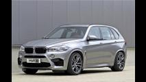 BMW X5 M in Lauerstellung