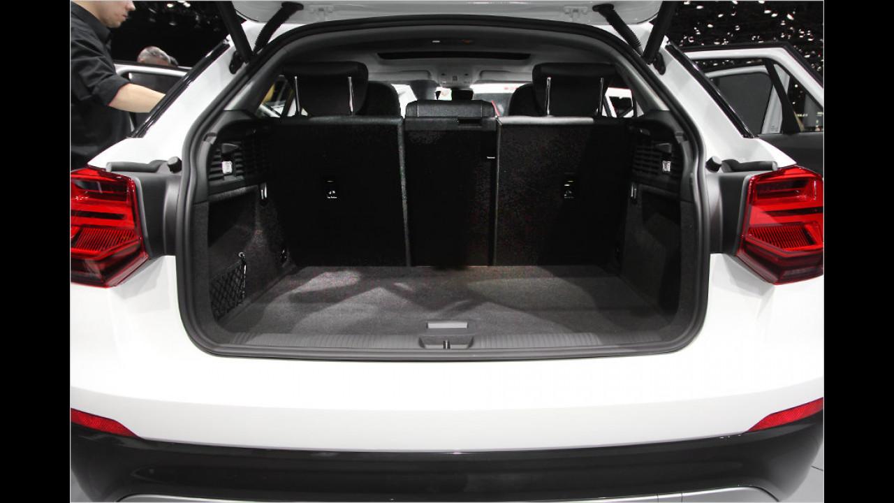 Genf 2016: Sitzprobe im Audi Q2