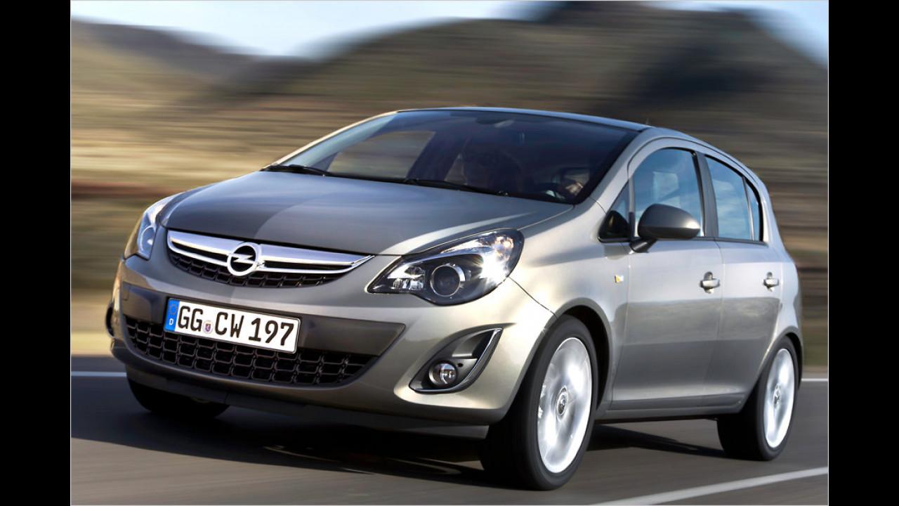 Geteilter Platz 9: Opel Corsa 1.3 CDTI 70 kW
