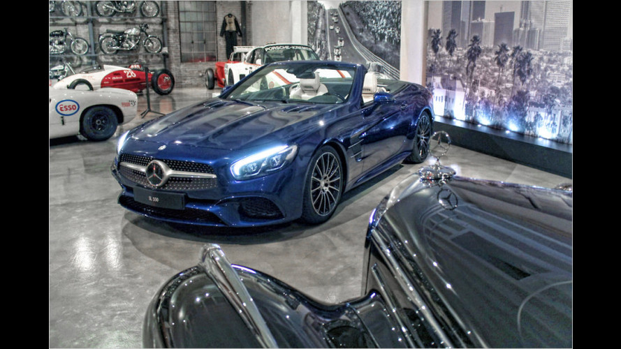 Mercedes enthüllt den neuen SL