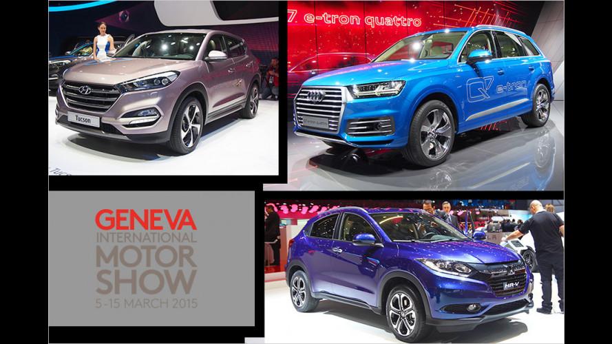 Die besten SUVs auf dem Genfer Autosalon 2015