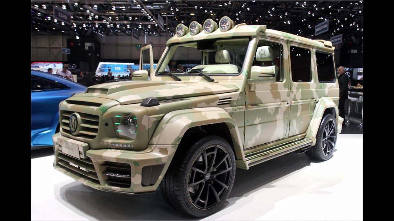 Mansory G-Klasse Sahara Edition