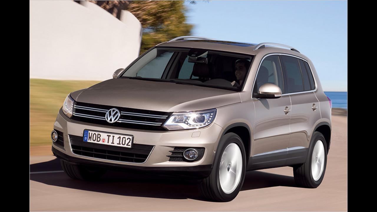 Kompakt-SUV, Platz 2: VW Tiguan