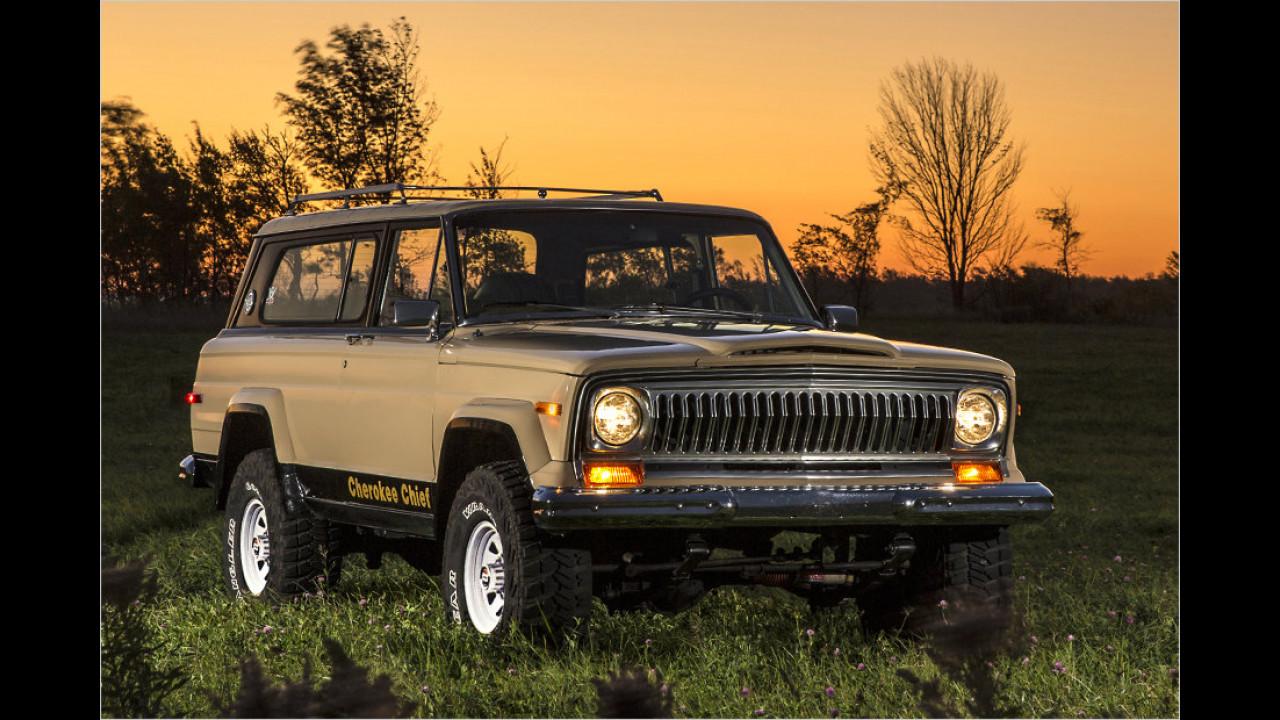 Jeep Cherokee (SJ): 1974-1983