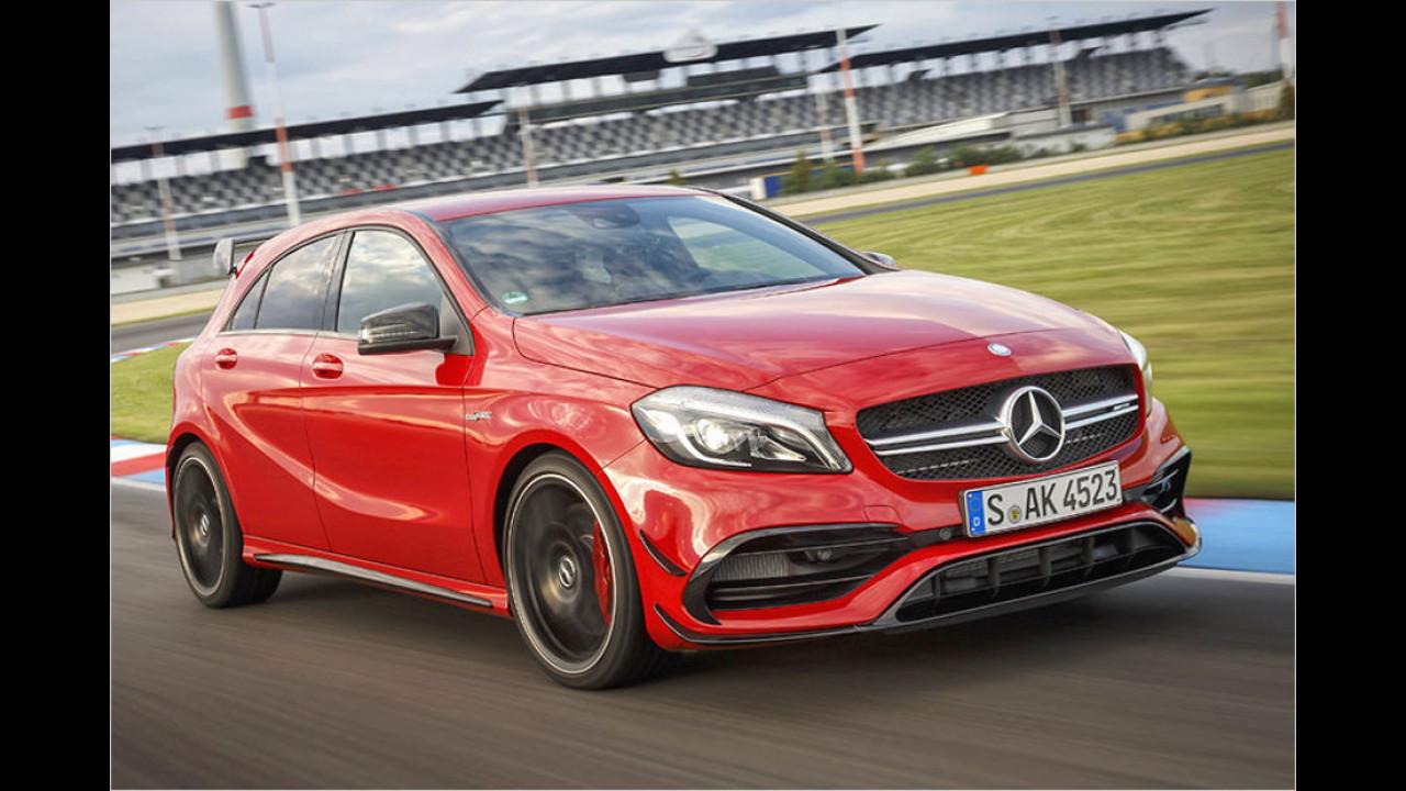 1. Mercedes-AMG A 45: 4,2 Sekunden