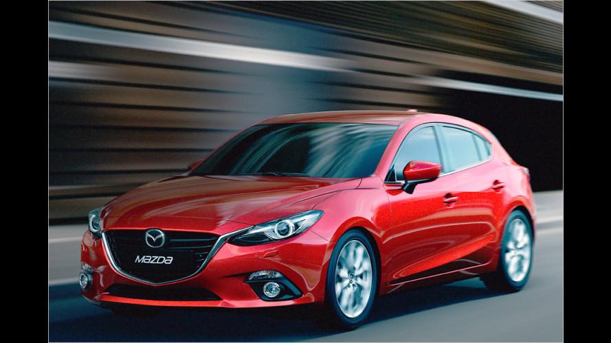 Neuer Mazda 3 (2013) im Test