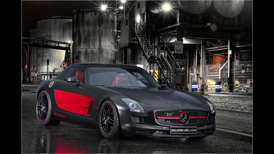 Mcchip-dkr packt bis zu 706 PS in den Mercedes SLS AMG