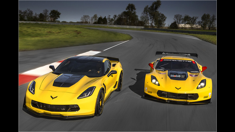 Corvette Z06 C7.R Edition wird noch renniger