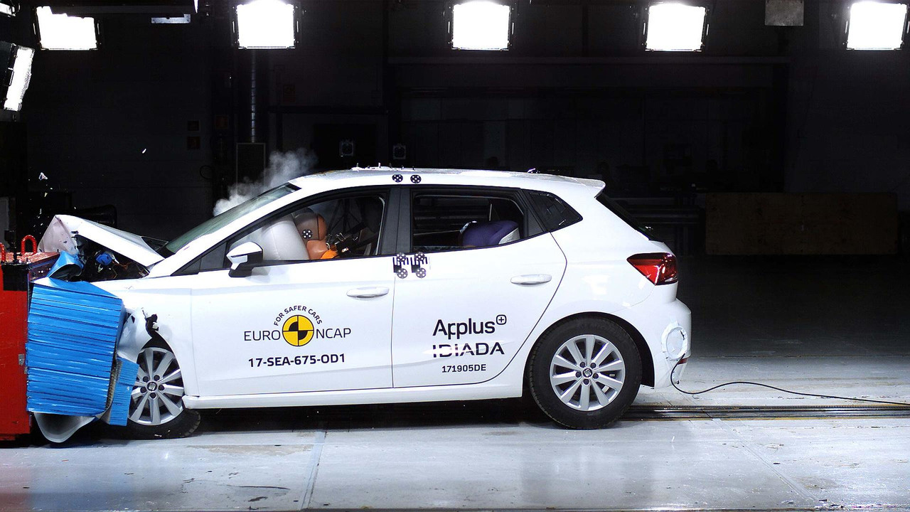 Seat Ibiza 2017 Euro NCAP crash test