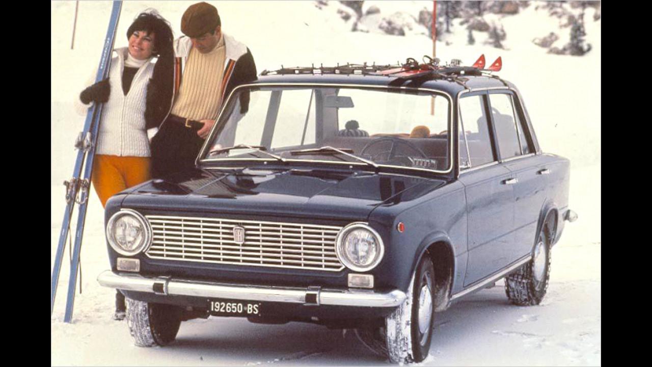Fiat 124: rund 20 Millionen (seit 1966)