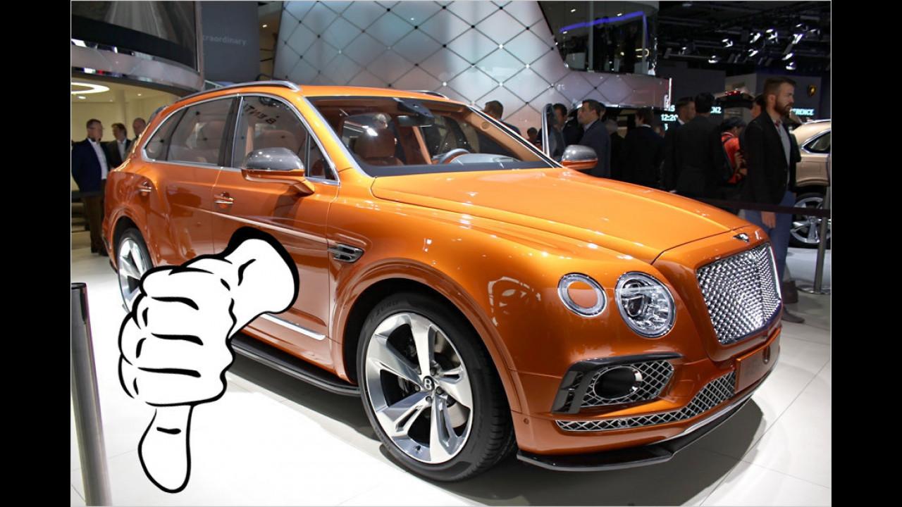 Flop: Bentley Bentayga
