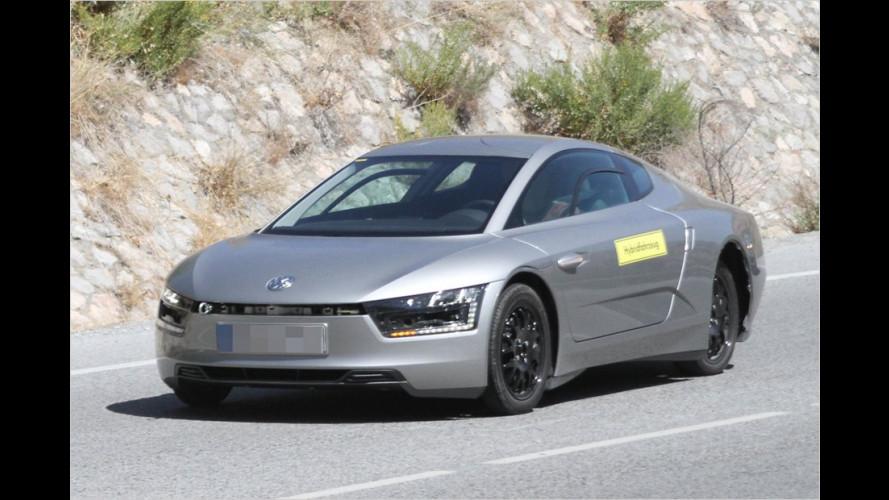 Erlkönig erwischt: VW XL1