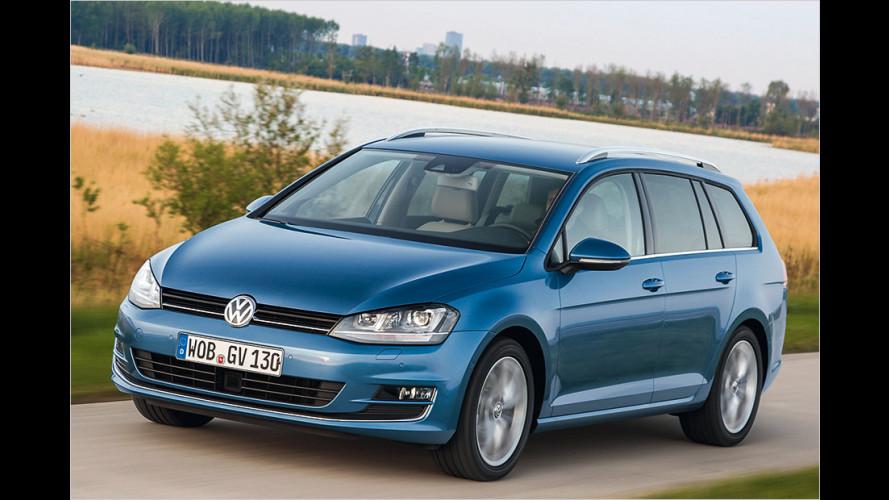 VW Golf Variant (2013): Kompaktkombi im Test